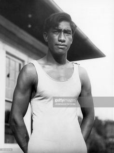 Duke Paoa Kahinu Mokoe Hulikohola Kahanamoku (August 1890 – January was a Kānaka Maoli (Native Hawaiian) competition swimmer, who is widely credited with popularizing the ancient. Kelly Slater, Kai, Us Olympics, Heritage Month, Olympic Athletes, Black History Facts, Vintage Hawaii, Asian American, Miyazaki