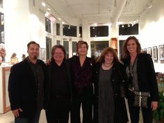 Animazing Fine Art Gallery in NYC at the Froud's book signing and App launch. Nick Reviglio, Brian Froud, Heidi Leigh, Wendy Froud and Holly Hartzell-Reviglio.  https://itunes.apple.com/us/app/froud-meditations-pathways/id563141623?mt=8