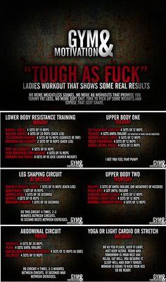 Gym & Motivations Week Workout