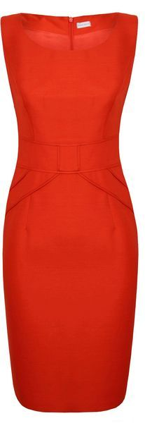 Sienna Silk Wool Shift Dress - Lyst