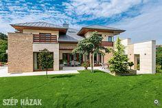 Modern Mediterranean Homes, Modern House Design, Facades, Building A House, House Plans, Sweet Home, Villa, 1, Cottage