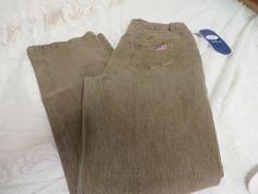 DG2 DIANE GILMAN Jean Pant Size 8 Style 061322 Brown Embellished NWT