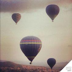 Instagram slika dana - volite li da letite balonom - Kompjuter biblioteka