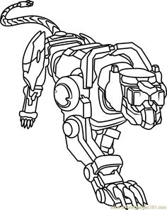 Free voltron legendary defender coloring page free for Voltron coloring pages free