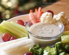 Dairy-Free Ranch Dressing - leave out the honey to make it whole 30 :)