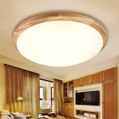 99.00$  Watch here - http://alida8.worldwells.pw/go.php?t=32785731263 - A1 The bedroom lamp round wood logs Nordic Korean led style wooden ceiling lights balcony ceiling lamps