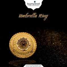 Reflections of Perfection. Select from our alluring range of Umbrella Rings. Bangle Bracelets, Bangles, Gold Ring Designs, Gold Rings Jewelry, Modern Jewelry, Wedding Jewelry, Gold Necklace, Plaster, Saree