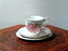 Art Deco Royal Grafton Vintage Trio Includes Cup + Saucer + Side Plate