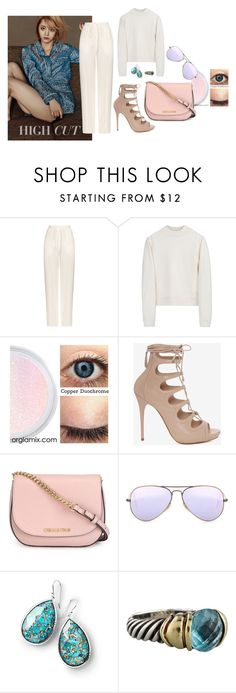 """199-3 Tick Tock"" by afashionpage on Polyvore featuring Chloé, Acne Studios, Alexander McQueen, MICHAEL Michael Kors, Ray-Ban, Ippolita, David Yurman and modern"