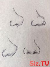 nose drawing easy * nose drawing _ nose drawing tutorial _ nose drawing reference _ nose drawing step by step _ nose drawing cartoon _ nose drawing anime _ nose drawing easy _ nose drawing tutorial step by step Cool Art Drawings, Pencil Art Drawings, Art Drawings Sketches, Easy Drawings, Sketch Art, Hipster Drawings, Face Sketch, Girl Sketch, Sketch Ideas