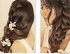 prom-hairstyles-for-long-hair-Cascading-Braid.jpg (620×480)