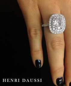 I would never wear a ring so big, but I love to spend hours gazing at them.