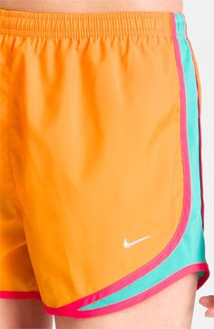 orange + turquoise shorts <3 pinning even though I have these :)