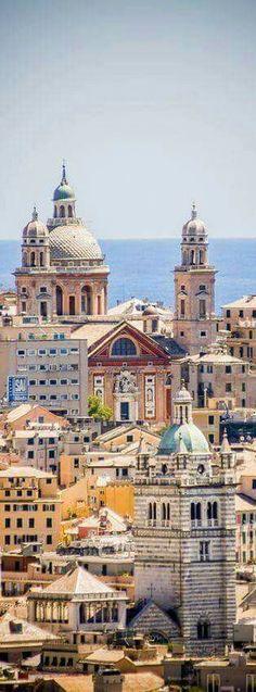 Genoa, Italy #italytravel