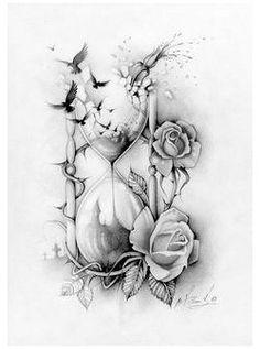 Girly Tattoos, Subtle Tattoos, Trendy Tattoos, Small Tattoos, Time Tattoos, Feminine Tattoos, Time Heals Tattoo, Time Flies Tattoo, Inspiration Tattoos