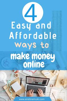 People want to make money online. Fortunately, today it's become easy and afford… – Make money Work From Home Tips, Make Money From Home, Way To Make Money, How To Make, Money Fast, Home Based Business, Business Tips, Online Business, Business Design