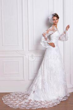 Laced weddingdress