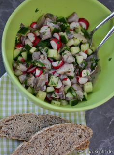 Knackig frischer Matjessalat - Katha-kocht!