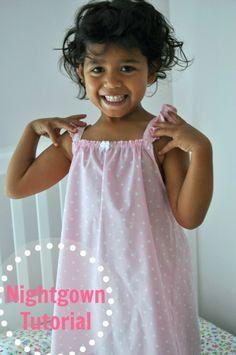 Little Girl's Nightgown Tutorial