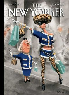 La Belle Illustration: Ian Falconer, The New Yorker, couverture, 10 septembre 2012.