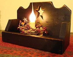 Star candle box