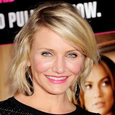 #CameronDiaz was looking pretty in pink—lipstick that is! We loved how it was a flirty departure from the sheer nude glosses of the season! http://celebrityphotos.instyle.com/dailybeautytip/photos/results.html?No=0#
