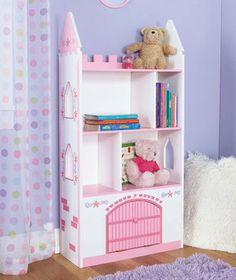 Princess bookshelves.