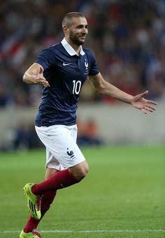 Karim Benzema of France