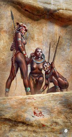Amazeon, Fighting Tribal Queen