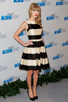 Taylor Swift – KIIS FM's 2012 Jingle Ball  She looks so perfect.