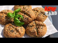 Lchf, Muffin, Paleo, Low Carb, Yummy Food, Bread, Meals, Baking, Breakfast