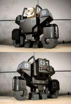 Metal Toys, Wood Toys, Vinyl Toys, Vinyl Art, 3d Printed Robot, Robots Characters, Modelos 3d, Robot Design, 3d Prints