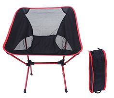 Introducing GeLivable Outdoor Camping Folding Chair Perfect for All Types of Outdoor EventsRed. Great Product and follow us to get more updates!