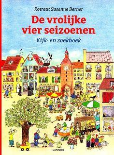 De vrolijke vier seizoenen Kijk- en zoekboek - alle seizoenen in en om een stad gebundeld in één dik boek