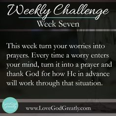Esther Study Week 7 Challenge: This week turn your voice into prayers. Every time a worry enters your mind turn into a prayer and thank God for how He in advance will work through that situation. Christian Life, Christian Quotes, Esther Bible Study, Online Bible Study, Prayer Quotes, Quotes About God, Names Of Jesus, Word Of God, No Worries