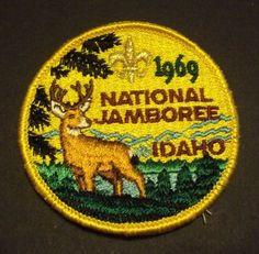 Vintage Boy Scout 1969 National Jamboree Pocket Patch
