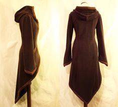 This Gorgeous Wrap Around Coat Has Elven Style