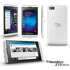 BLACKBERRY Z10 16GB WHITE FACTORY UNLOCKED GSM