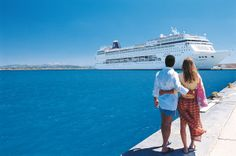 MSC Armonia docked at Corfu, Greece