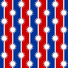 star stripe 2 in 2 - nationalistic fabric by sef on Spoonflower - custom fabric