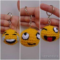 Emoji Patterns Crochet Letters Step By Step Crochet Key Fobs Crochet Toys Crochet Handbags Emojis Amigurumi Doll Stitch Amigurumi Patterns, Amigurumi Doll, Hand Crochet, Crochet Toys, Baby Blanket Crochet, Crochet Baby, Hello Kit, Crochet Letters, Emoji Patterns