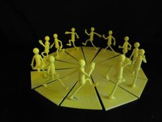 3D printed zoetrope #3dPrinteresting #3dPrinting