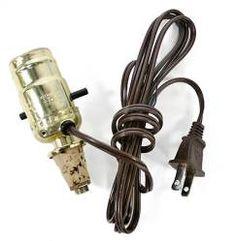 Cork Bottle Lamp Adapter Kit -Turn a bottle into a Lamp!