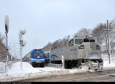 RailPictures.Net Photo: AMT 1345 Agence Metropolitaine de Transport EMD F59PH at Montreal, Quebec, Canada by Michael Berry