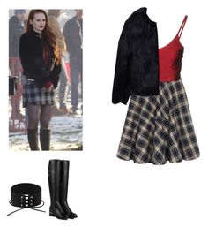 Cheryl Blossom - Riverdale by shadyannon on Polyvore featuring polyvore fashion style Boutique de la Femme WithChic clothing