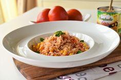 Orez cu rosii si porumb (Arroz de tomate)