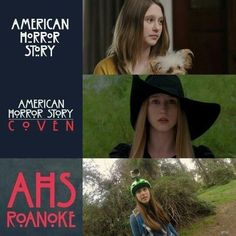 I always knew it was her in Roanoke but I had some doubts because I never had a good look of her face before in that series