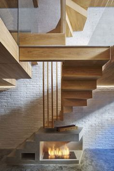 The client asked us to help them remodel their existing four-storey, slightly dilapidated mews house. London Mews House by Coffey Architects Interior Stairs, Interior Architecture, Interior And Exterior, Interior Design, Interior Modern, Space Saving Staircase, Mews House, Wood Stairs, Timber Stair
