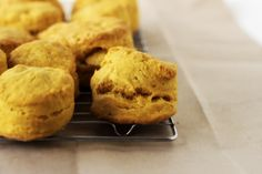 Always With Butter: Pumpkin Biscuits