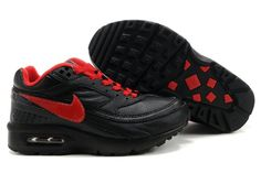 Kids Nike Air Max Classic BW Shoes Black Red
